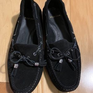 Cole Haan soft suede driving moccasins. Size 6
